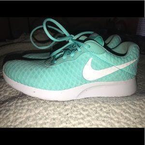 Nike Shoes | Teal Nike Tanjun | Poshmark